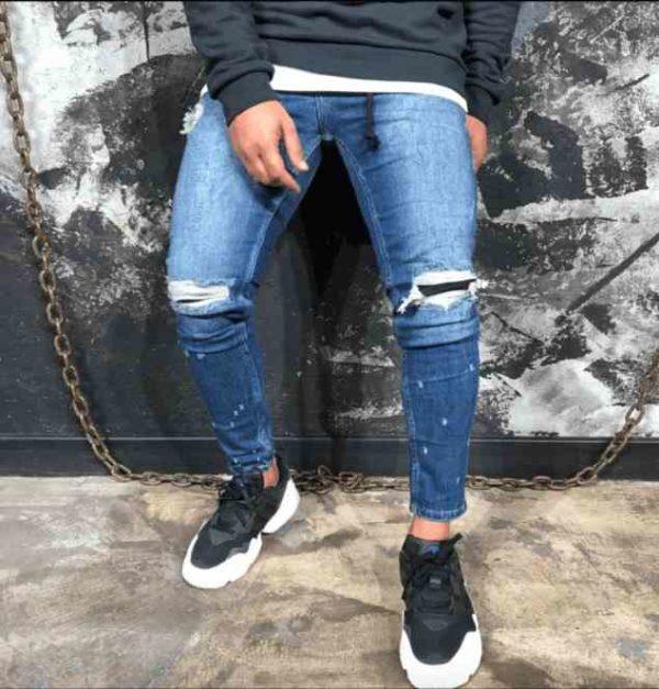 Jean Slim Bleu   jeans slim r8   Mode urbaine