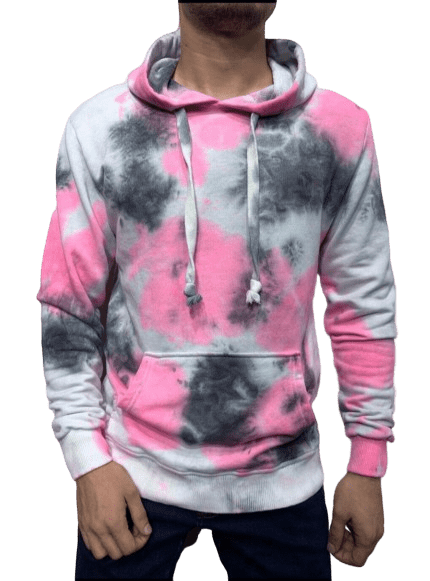 SWEAT A CAPUCHE TIE AND DIE - HOMME