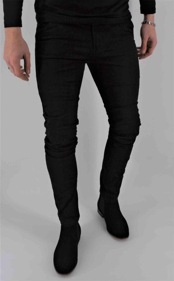 pantalon Chino noir homme