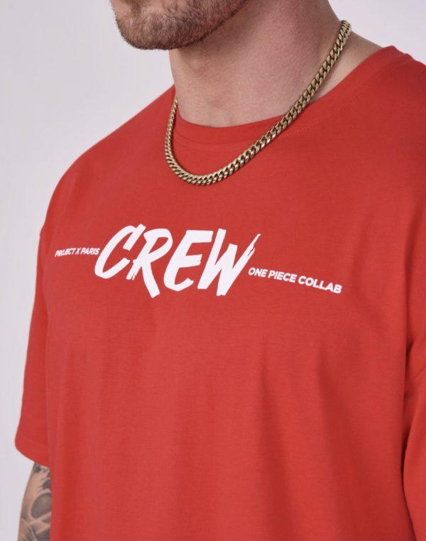 "Project x paris - Tee-shirt ""one piece"" crew - Mode urbaine"