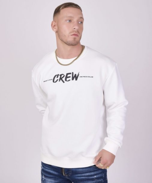"Project x paris | sweat col rond ""one piece"" crew"