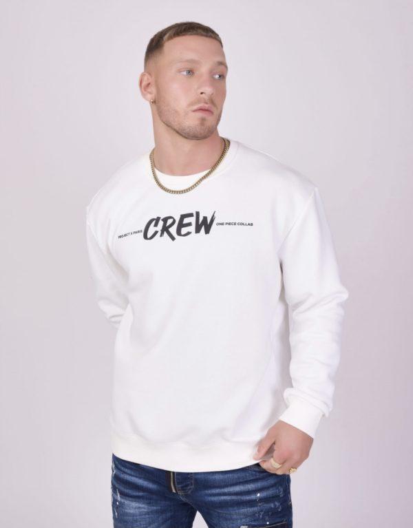 "Project x paris   sweat col rond ""one piece"" crew"