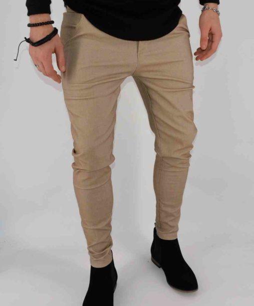 pantalon chino super skinny - coupe ajustée