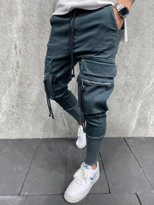 Pantalon cargo - Jogger pants navy - Mode urbaine