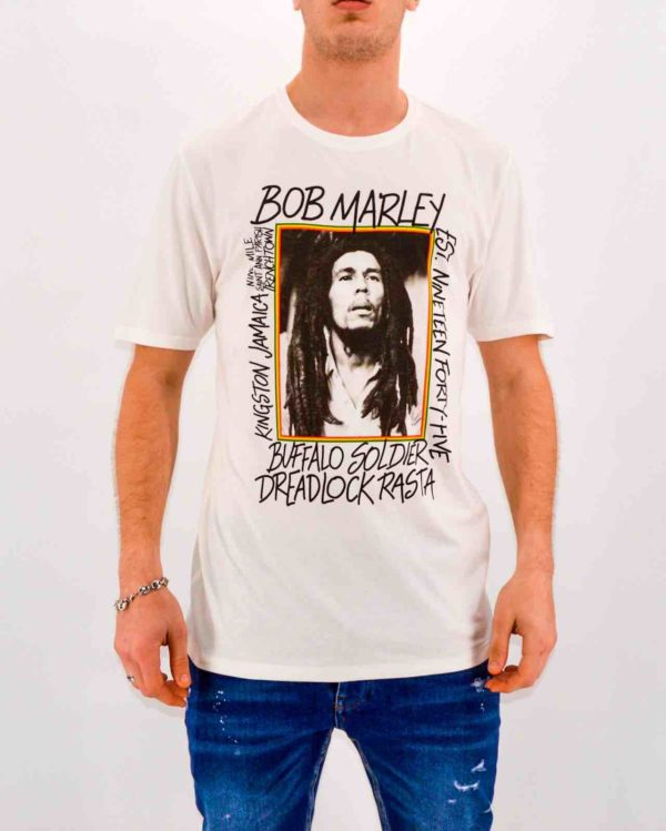 ONLY and SONS - Tee SHIRT BOB MARLEY
