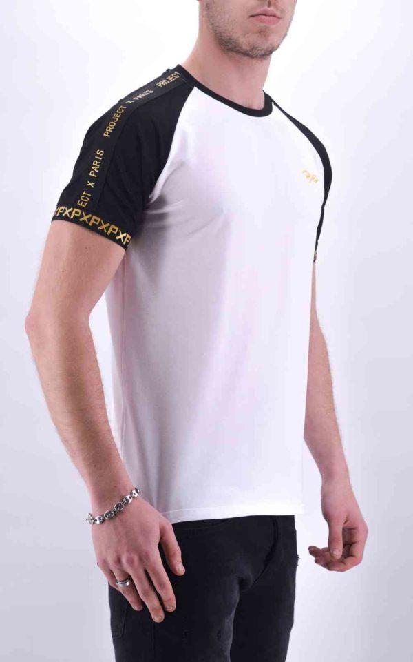 T-Shirt Projectxparis blanc et or 2010084