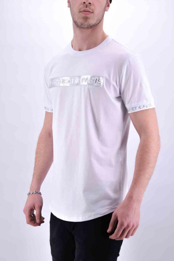 2010088 Projectxparis blanc Tee Shirt Projectxparis