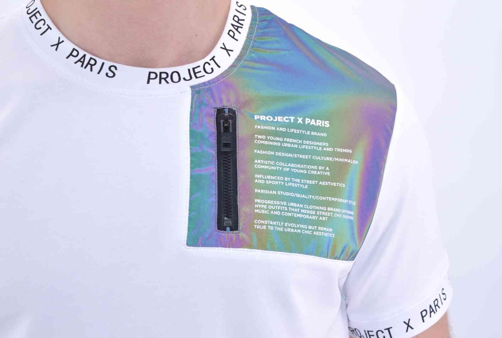 project x paris - t-shirt blanc 2010108