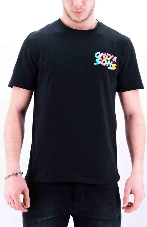OnsBatik T shirt noir homme - Mode urbaine