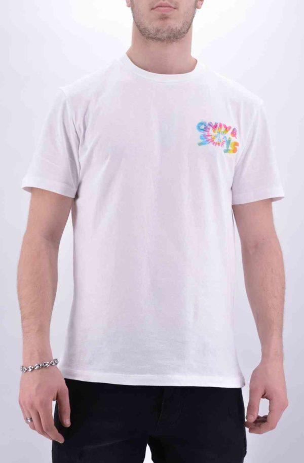 OnsBatik Tee shirt blanc homme - Mode urbaine