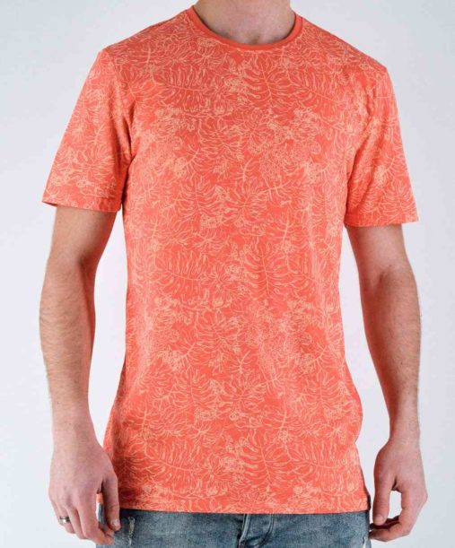 Only&sons - t shirt Orange tee shirt