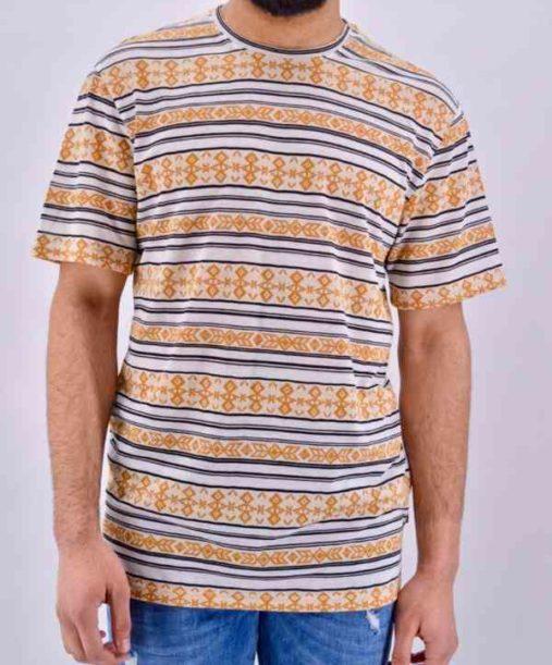 Tee shirt homme jacquard - Mode urbaine