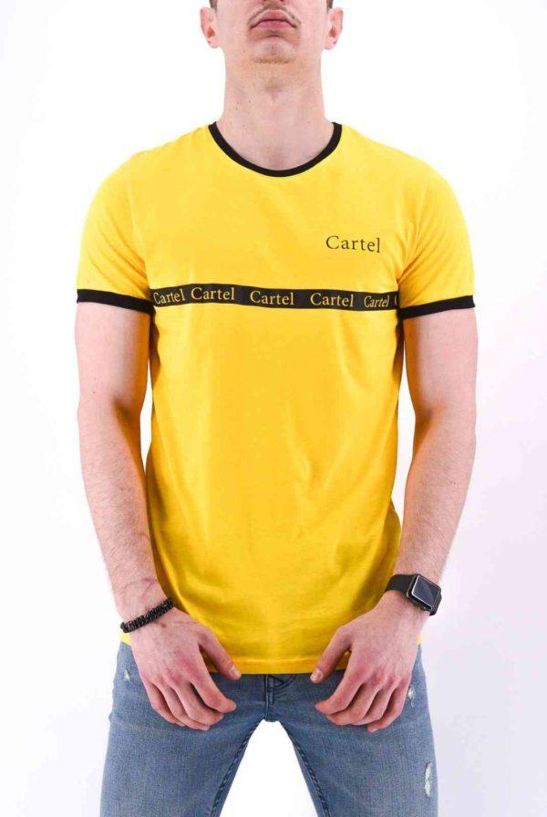 T SHIRT Jaune CARTEL