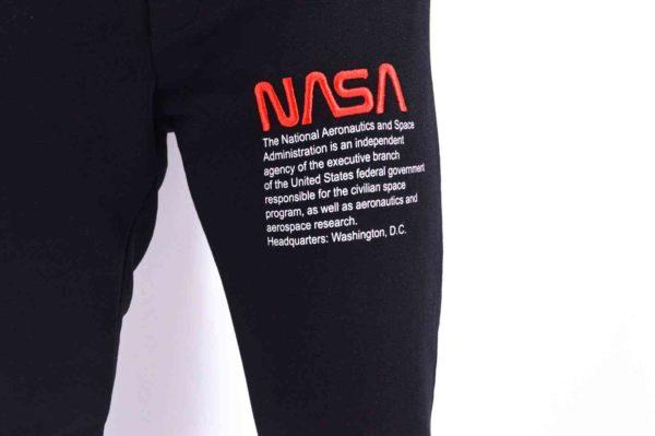 JOGGER PANTS NOIR NASA - SWEATPANTS NOIR NASA