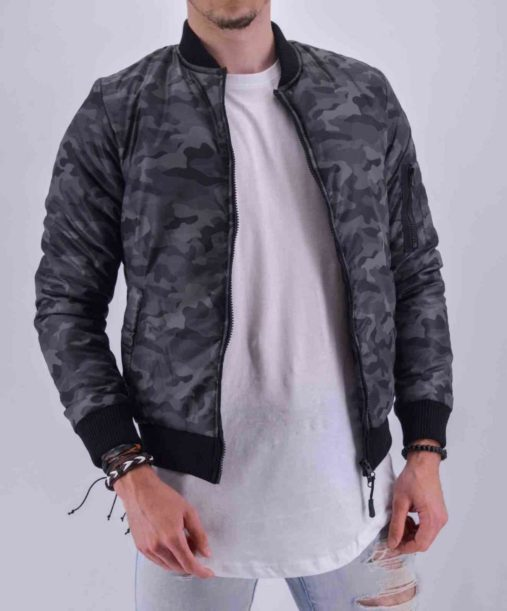 bombers camouflage gris