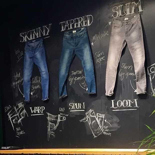 jeans slim skinny regular homme