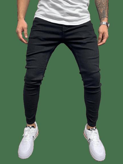 jean slim skinny noir