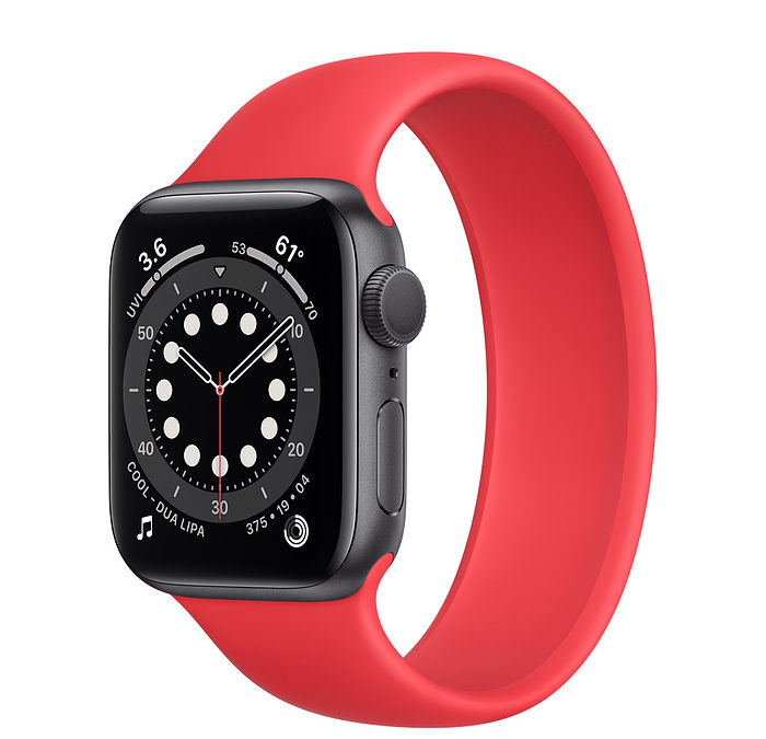 apple watch red