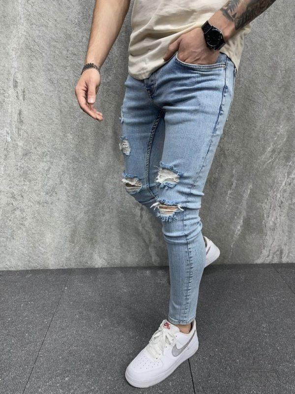 Jean super skinny homme - Jean skinny bleu