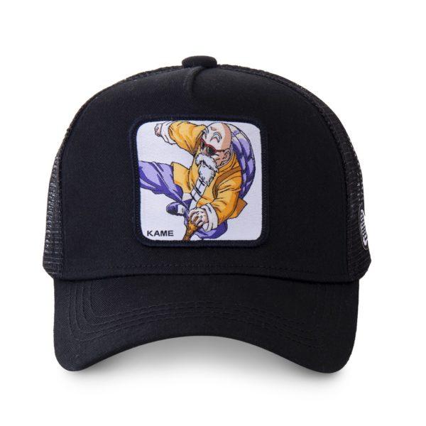 casquette Capslab Dragon Ball Z - Casquette kame noir CL:DBZ2:1:KAM10