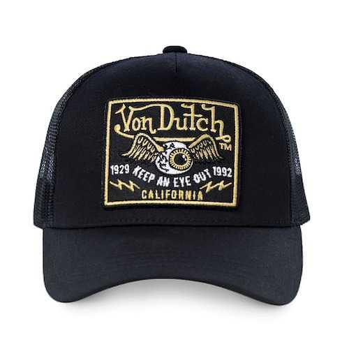 casquette von dutch - VD:0:CAS1:BLKB