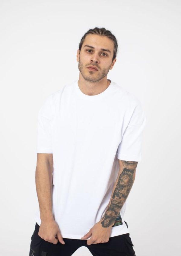tee shirt oversize blanc
