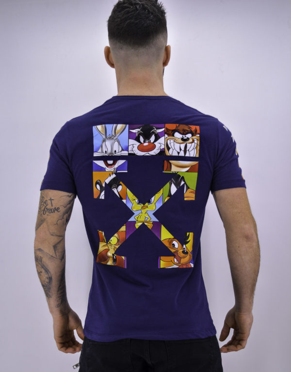 T shirt looney tunes navy - Mode urbaine
