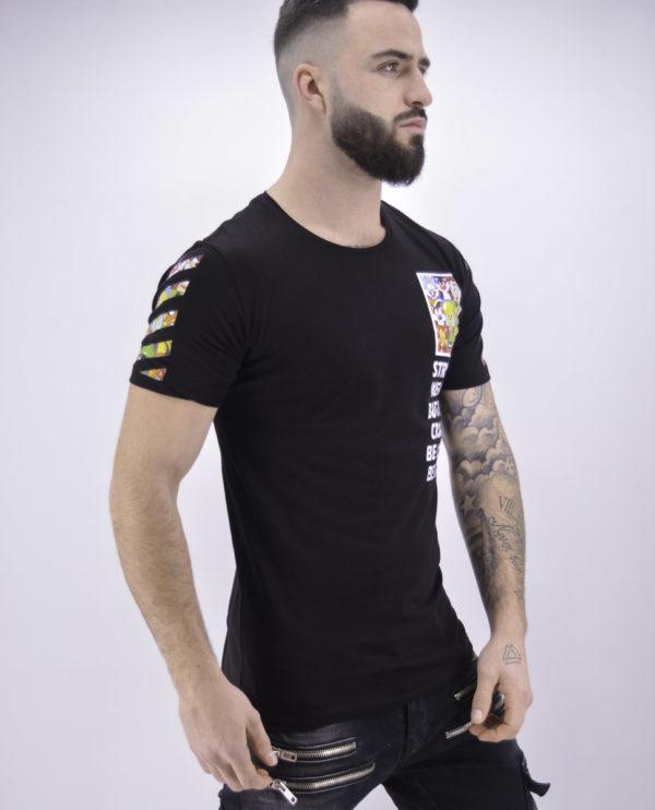 T shirt looney tunes noir - Mode urbaine