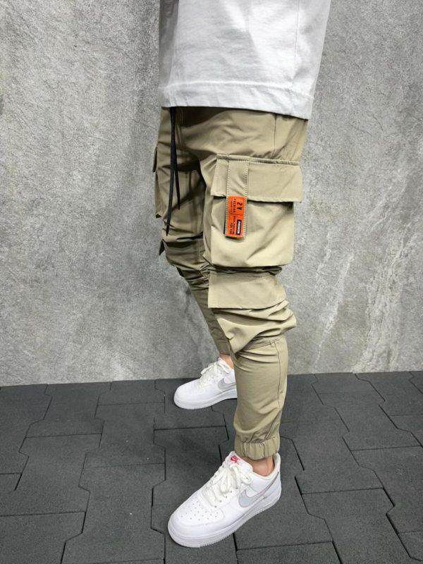 Jogger pants beige es8051