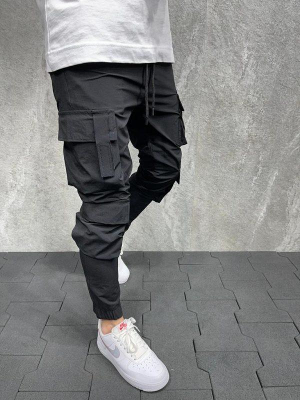 Jogger pants noir es8051