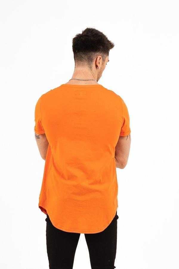 Sixth June - T shirt Sixth June orange - Mode urbaine