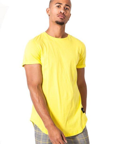 Sixth June - T shirt Sixth June jaune - Mode urbaine