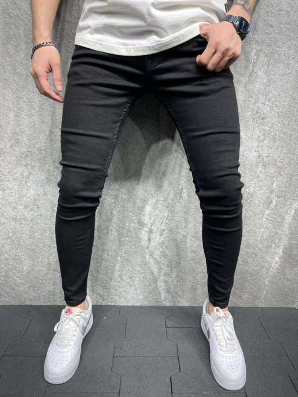 jean skinny noir homme - Mode urbaine