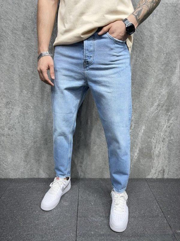 jean large homme - mode urbaine b6276.
