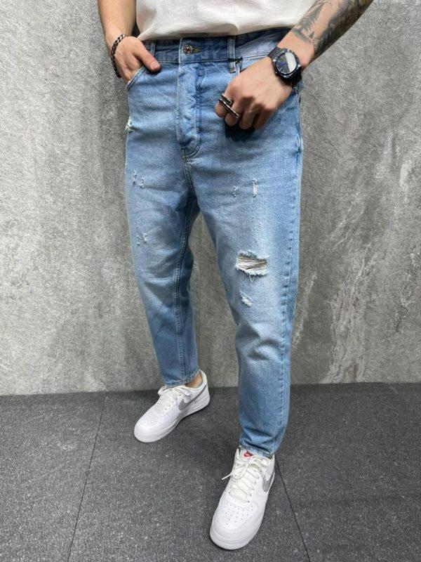 jean large homme - mode urbaine b6298