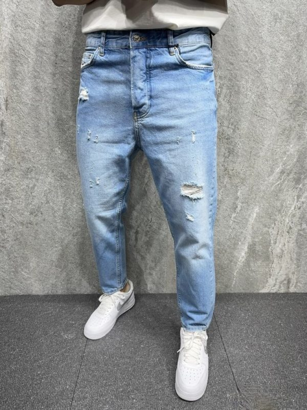 jean large homme - mode urbaine b6298.
