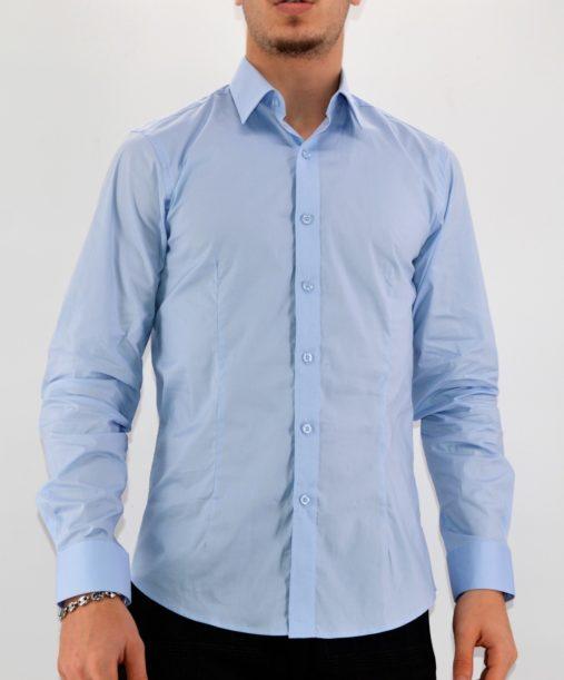 Chemise homme bleu ciel - Mode Urbaine