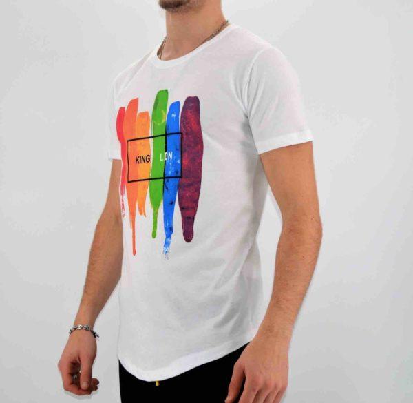 T shirt blanc blanc oversize homme - Mode Urbaine