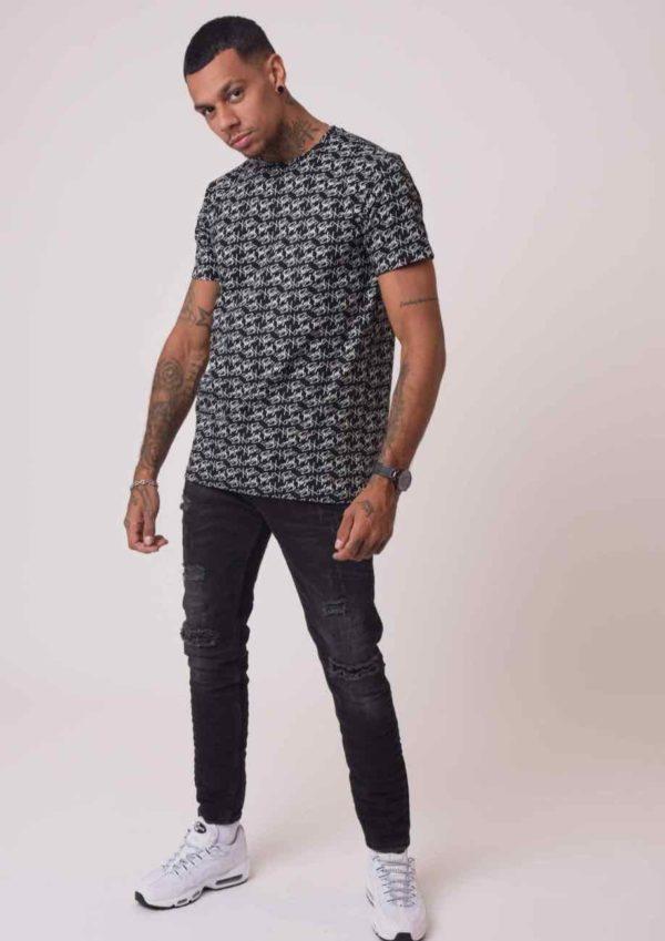 Mode urbaine – Tee shirt project x paris noir