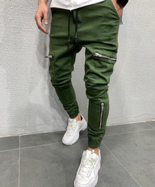 Jogger pants kaki - jogger kaki - Mode urbaine