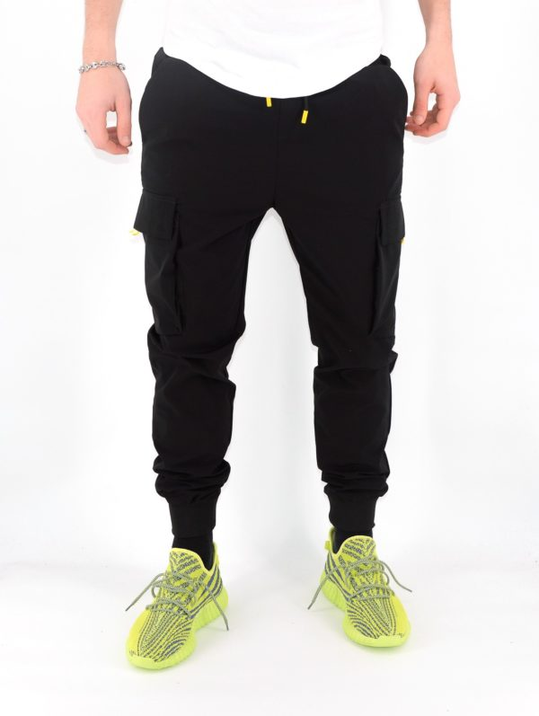 Pantalon cargo noir - Jogger - Mode urbaine