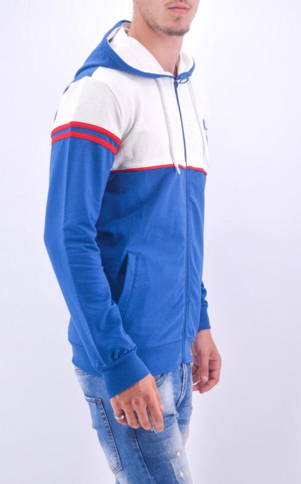 Veste capuche Nasa bleu - Mode Urbaine