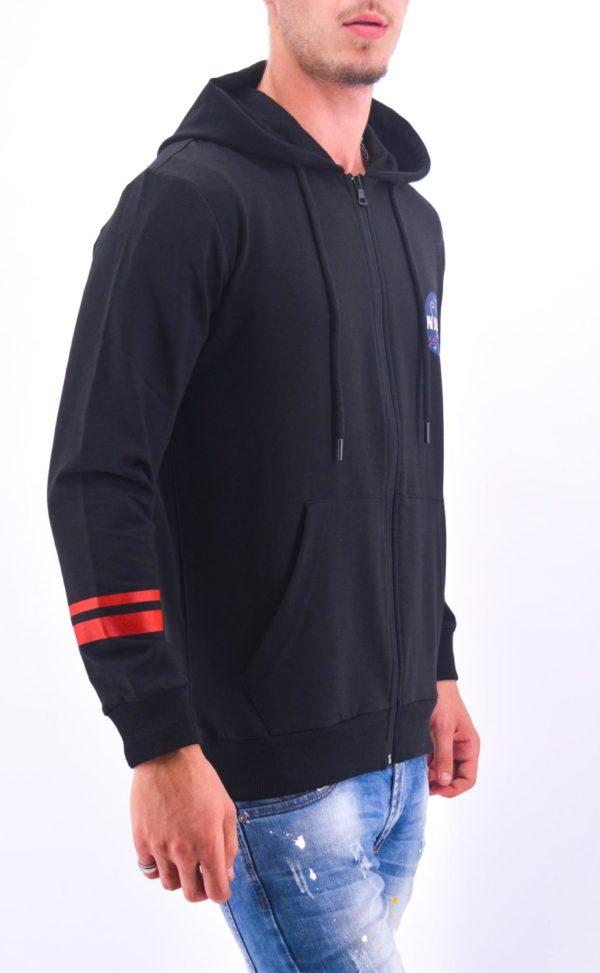 Veste capuche Nasa noire - Mode urbaine