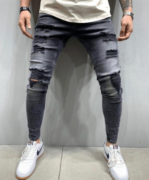 jean skinny noir b5276