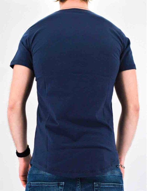 T shirt bleu marine oversize - Mode Urbaine