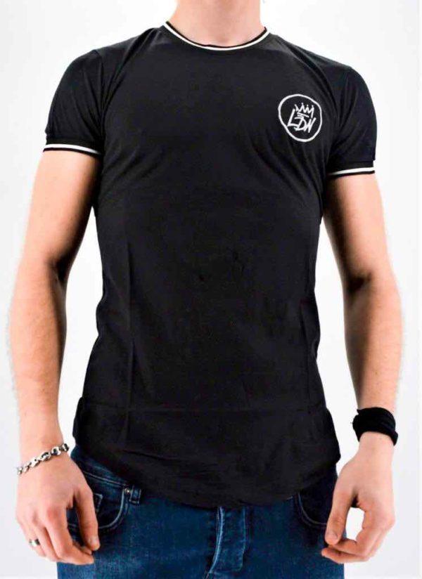 T-shirt noir oversize masculin - Mode Urbaine