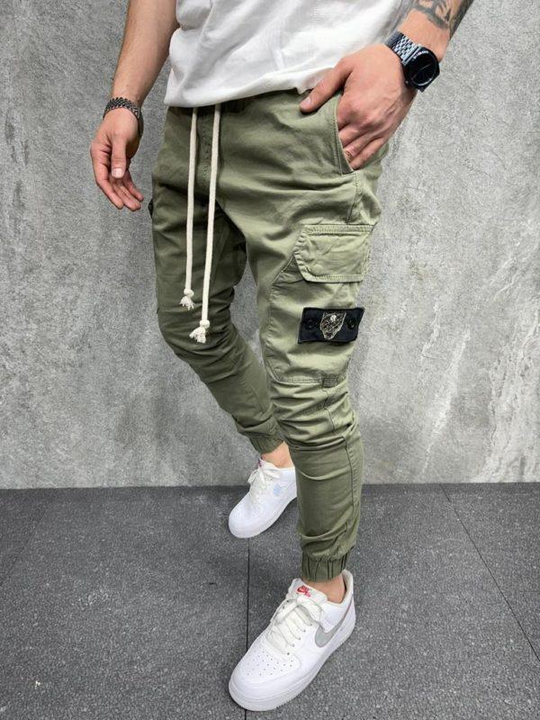 Jogger pant kaki homme - Mode Urbaine