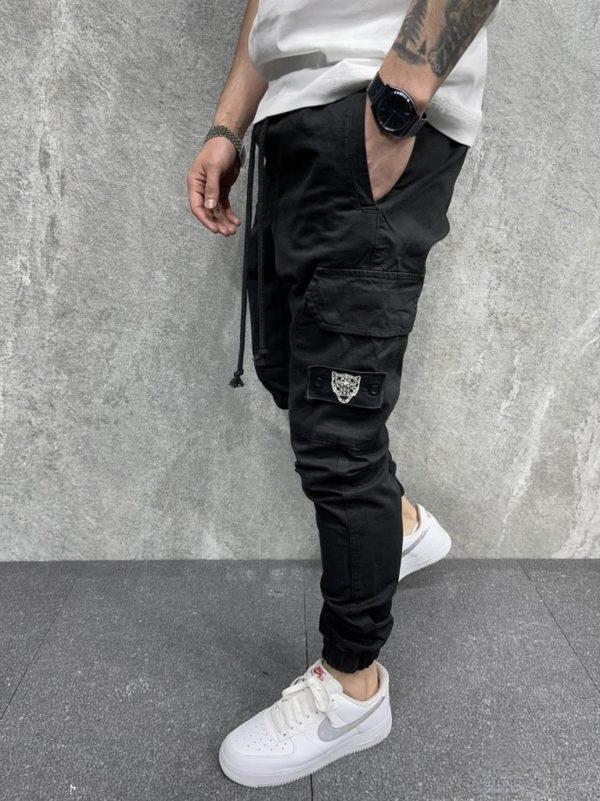 Jogger pant noir homme - Mode Urbaine
