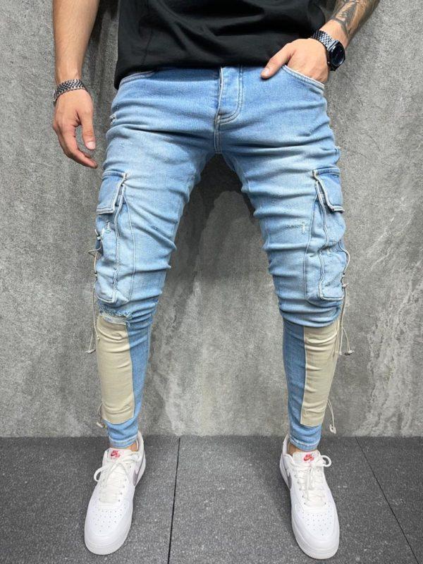 Jean homme - Pantalon cargo - Mode urbaine